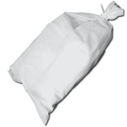 Set of Polypropylene Sand Bags w/Tie - 26in x 14in, 20 Bags