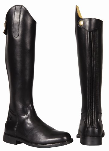 TuffRider Children's Baroque Dress Boots, Black, 2 Regular Wide