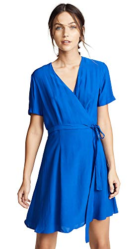 Diane von Furstenberg Women's Savilla Dress, Cobalt, Blue, 4
