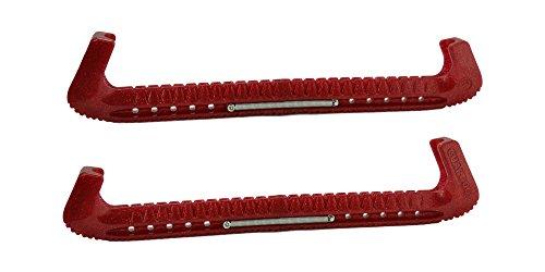 Guardog Top Notch Hard Adjustable Skate Guards - Red Glitz