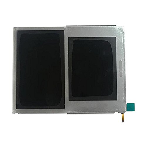 Rinbers OEM Replacement Top Upper and Bottom Lower LCD Screen Display for Nintendo 2DS N2DS with Y Tool