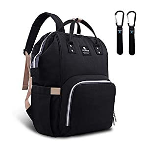 Hafmall Diaper Bag Backpack – Waterproof Multifunctional...