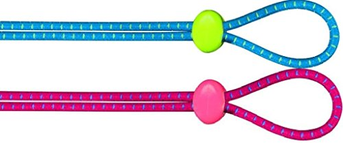 TYR Bungee Cord Strap Kit Blue and Pink