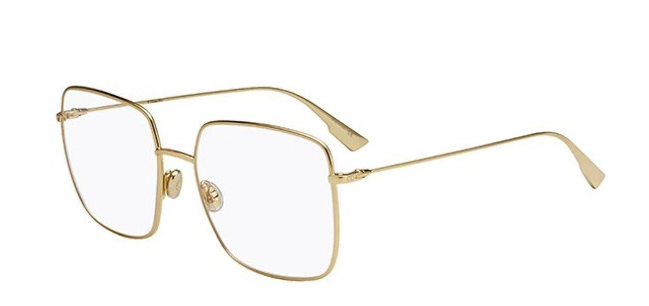 2153be262144 Amazon.com  Authentic Dior Stellaire O 1 gold (J5G) Eyewear Eyeglasses   Clothing