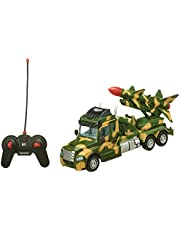 Lixiong Sheng Rocket-Carrying Vehicle with Remote Control - Multi Color