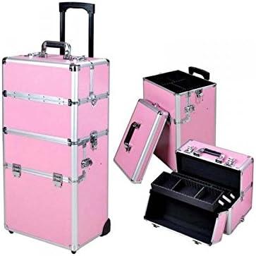 Trolley Valise Manucure Professionnelle Rose Amazon Fr Beaute Et Parfum