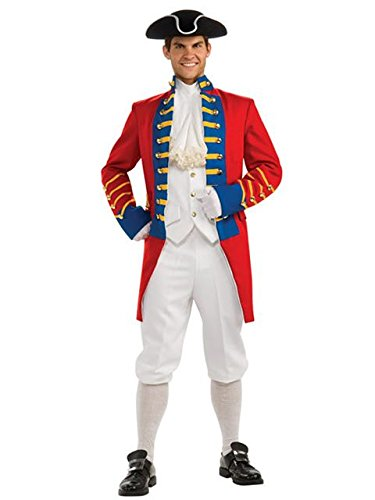 Redcoat Costumes (Men's British Redcoat Regency Collection Costume MEDIUM)