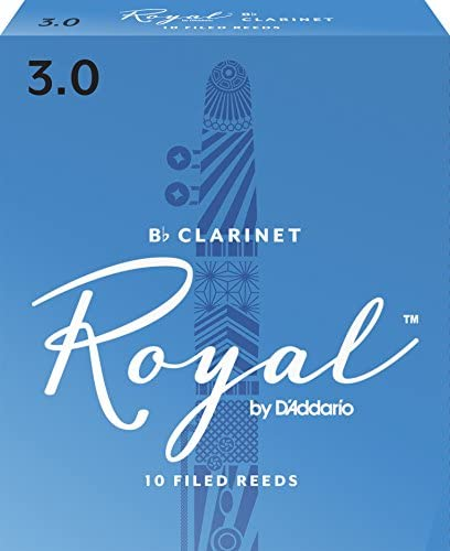 Royal Clarinet Reeds Strength 10 pack product image