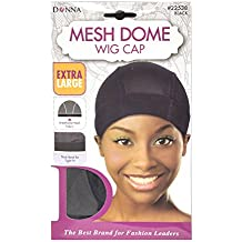 Donna Mesh Dome Wig Cap (Mesh Dome Cap (X Large))