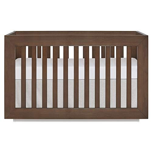 Evolur Maddox Modern Crib, Toffee and Brush ()