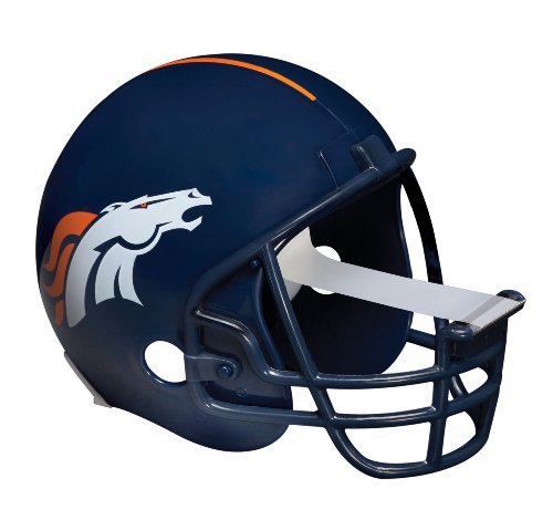 Scotch Magic Tape Dispenser, Denver Broncos Football Helmet with 1 Roll of 3/4 x 350 Inches Tape by Scotch