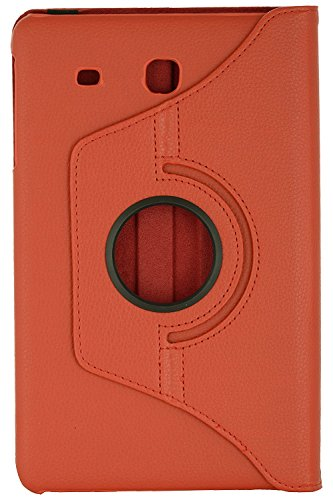 San Pareil Tablet Cover for Samsung Galaxy Tab E 9.6 inch SM T561 T560 T565 Red