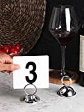 New Star Foodservice 23398 Ring-Clip Table Number