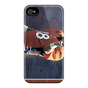 Protector Hard Phone Case For Iphone 6 With Customized Trendy Denver Broncos Pattern PhilHolmes