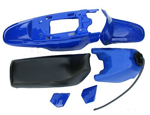 PLASTIC SEAT GAS TANK KIT BLUE for YAMAHA PW50 PW 50 A&B Motor Parts