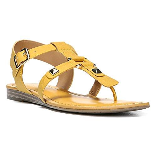 Franco Sarto Vrouwen Geiser Gladiator Sandaal Tropisch Goud