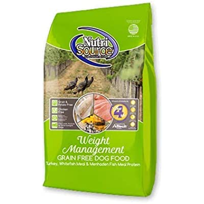 Nutrisource Grain Free ( Turkey ) Weight Management Dog Food 15Lb