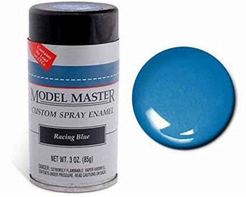 Testors Model Master Spray Enamel Racing Blue 3oz. 85g #2940 ()