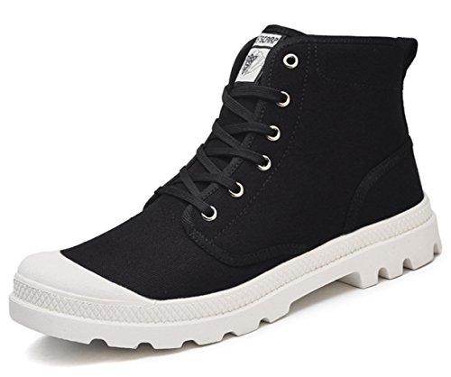 Schwarz Canvas Turnschuhe Kinderschuhe Herren Sneaker High Top weiß Damen DADAWEN YnSwq86XY