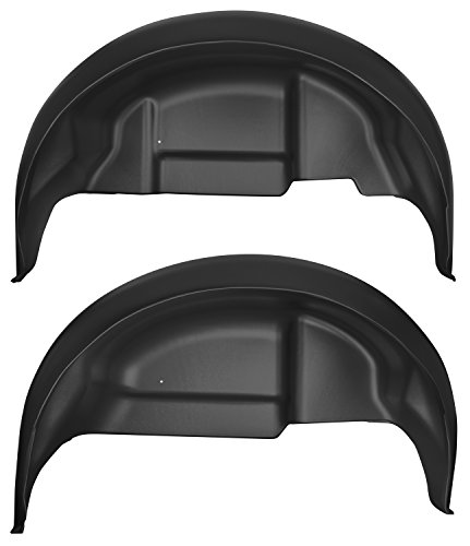 Husky Liners 79141 Black Rear Wheel Well Guards Fits 17-18 F150 Raptor
