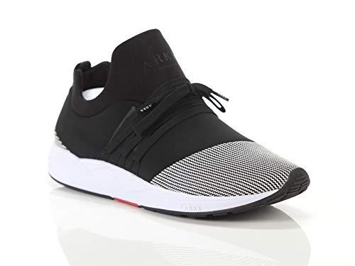 ARKK, Uomo, Raven Mesh S-E15, Mesh, Sneakers, Nero