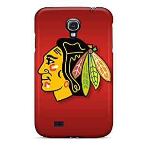 MQMshop Design High Quality Chicago Blackhawks Cover Case With Excellent Style For Galaxy S4