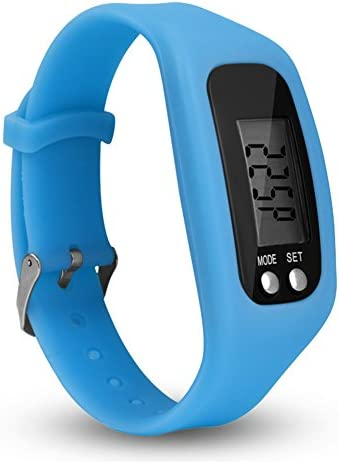 Cleme Smart Watch Kalorien Schrittzähler Gehzeit Schrittzähler Armband Tragbare Multifunktions Geschenk Outdoor Silikon Armband LCD Display Sport Entfernung(ß)