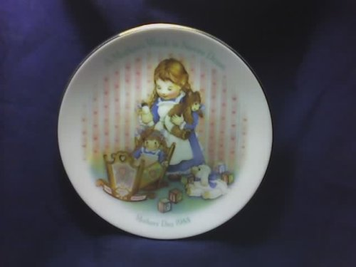 1988 Avon a Mother's Work Is Never Done Plate ()