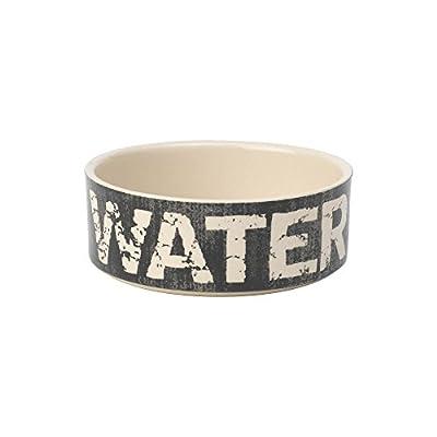 Petrageous Designs Vintage Water Black Dog Bowl