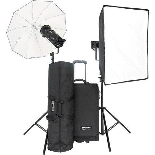 Bowens BW-8710USP Gemini 750Pro (x2) Kit - PocketWizard and Pulsar Compatible (Black) (Umbrella Gemini Kit)