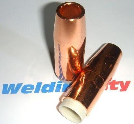 WeldingCity Gas Nozzle 4393 5//8 Copper for Bernard Q//S 200-300A MIG Welding Guns