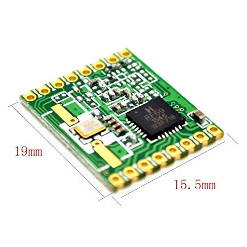 RFM69HW 868Mhz Transceiver Module High Integrated HopeRF Wireless 868S2 Module SPI 1.8-3.6V DC 0-800M Distance