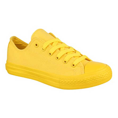 Yellow Sneaker New Donna Elara All vp1w0gSnq