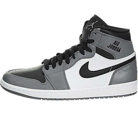 Nike Jordan Mens Air Jordan 1 Retro High Cool Grey/Black ...