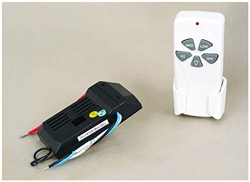 Vhomes Light Ceiling Fan Remote Control Kit White by Vhomes Light (Image #1)