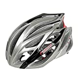 MCH-FJQXZ Integrally-molded EPS+PC Silvery Cycling Helmets (21 Vents)