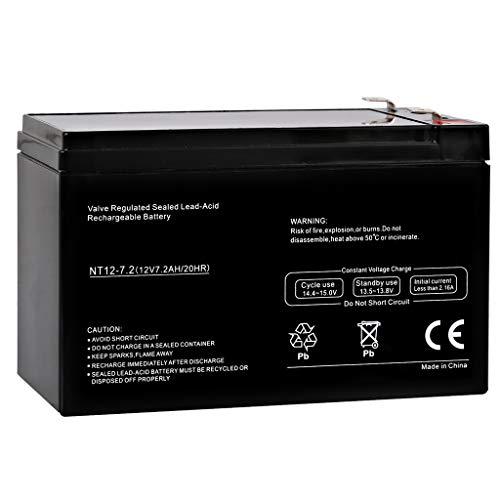 Hykolity 12V 7.2AH SLA Battery Replaces Cyclops Thor X Colossus Spotlight Brand Product