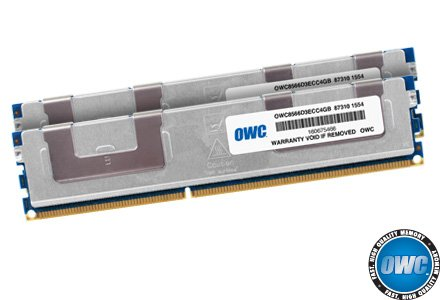 OWC 8.0GB (2 x 4GB) PC8500 DDR3 ECC 1066 MHz 240 pin DIMM...