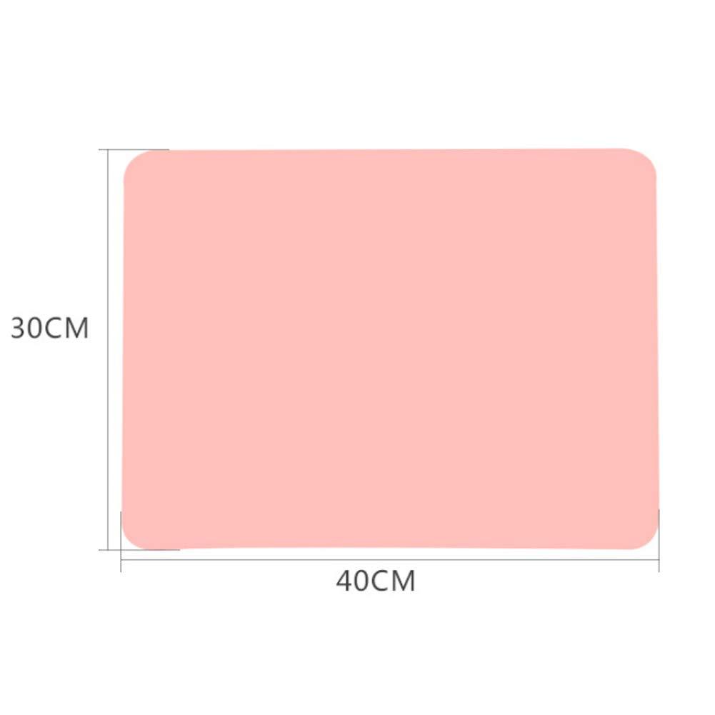 FUVOYA 1 PC B/éb/é Solide Couleur Isolation Antid/érapante Set de Table Silicone De Qualit/é Alimentaire Imperm/éable
