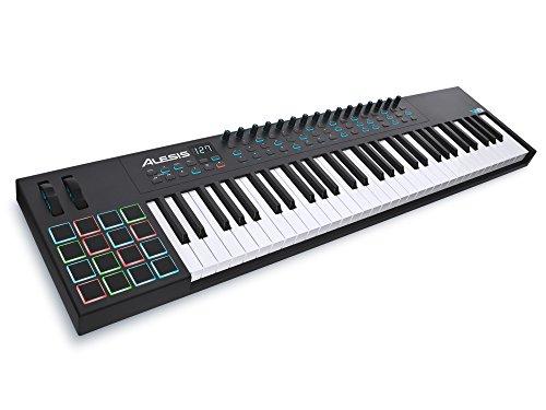 Alesis VI61 | Advanced 61-Key USB MIDI Keyboard & Drum Pad Controller (16 Pads / 16 Knobs / 48 Buttons) (Midi Controller Keyboard 61)