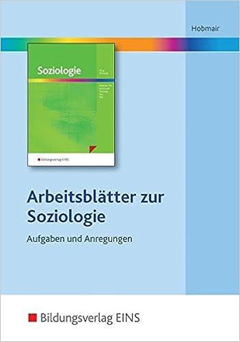 Soziologie: Arbeitsblätter auf CD-ROM: Amazon.de: Hermann Hobmair ...