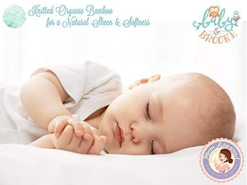 Organic Crib Mattress Pad – Waterproof and Breathable Pad - Standard