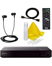 $119 » Sony BDP-S6700 4K Upscaling 3D Streaming Blu-ray Disc Player with Built in WiFi - 5 Pack Kit - Remote Control - 5 Pc Cleaning Kit - High Speed HDMI Cable - Xtreme Ear Buds (1 Year Warranty)