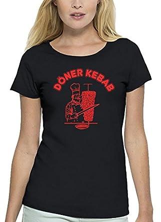 Premium Damen T-Shirt Aus Bio Baumwolle Döner Kebab Stanley Stella, Größe: S