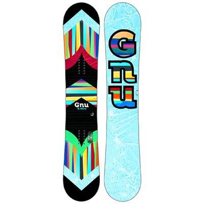 GNU Women's B-Nice Snowboard 2016 148CM