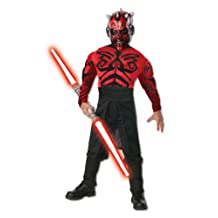Rubies Costume Co Star Wars Darth Maul Deluxe Costume Kit, Small
