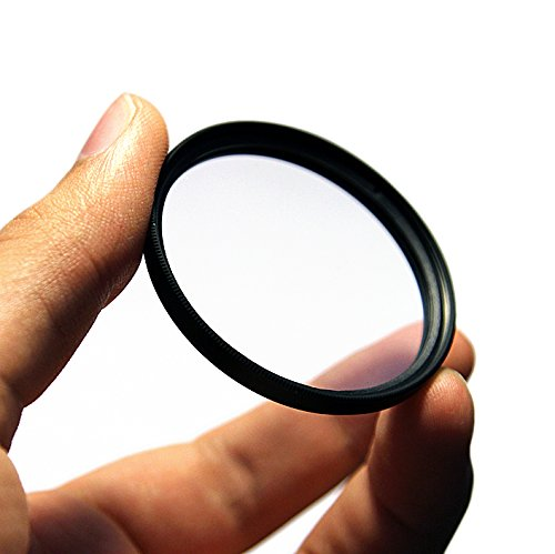 UV Ultraviolet Clear Haze Glass Protection Protector Cover Filter for Canon EF-S 10-18mm f/4.5-5.6 IS STM Lens by PhotoCentral
