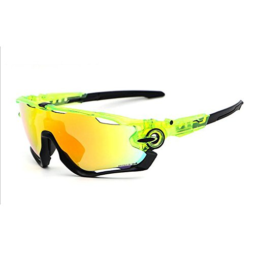 Cycling Sunglasses Polarized Mens Sport Glasses 4 Lens Cycling Glasses Bicycle Glasses