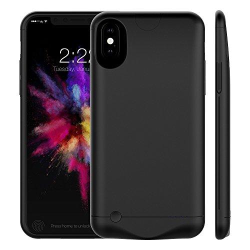 Vproof 5000mAh Funda de Batería para iPhone X, Cargador Portátil Estuche de Carga Recargable Batería Externa Protectora...
