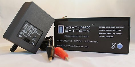 12V-34Ah-Battery-for-Raptor-Golight-Searchlight-12V-Charger-Mighty-Max-Battery-brand-product